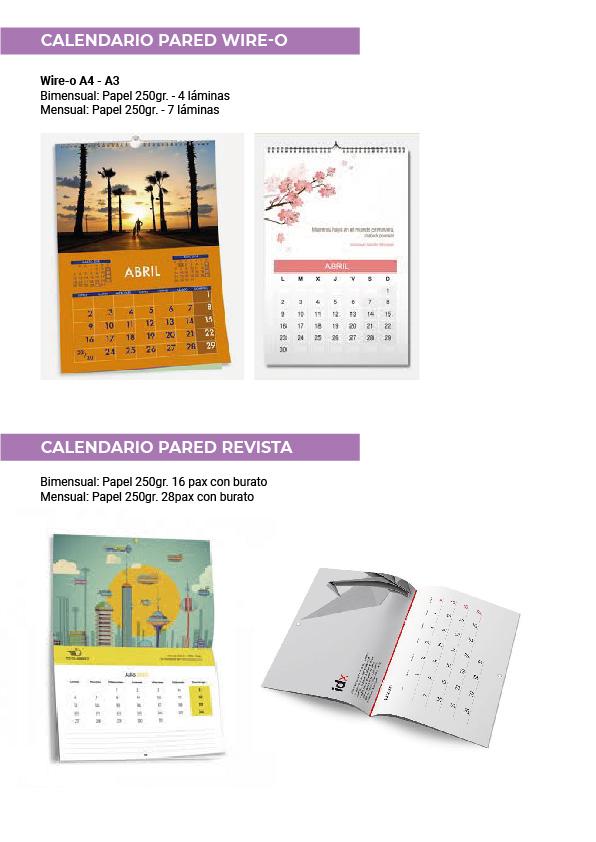 Calendarios Verín
